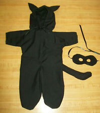 """BLACK CAT/PANTHER HALLOWEEN COSTUME W/ MASK for 15-16"""" CPK Cabbage Patch Kids"""