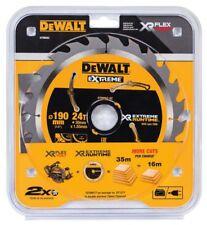 DEWALT DT99562 XR 190mm x 30mm Bore 24T TC Saw Blade