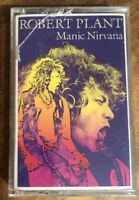 Robert Plant Manic Nirvana LED Zeppelin Cassette Tape New Sealed Marketing Purp
