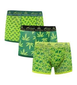 Latest Design LEAF Men's Cotton Boxer Shorts,Designer Neon Cotton Rich Underwear