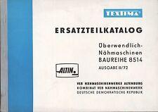 WITTENBERGE, Katalog 1972, VEB Nähmaschinenwerke Altenburg TEXTIMA ALTIN 8514