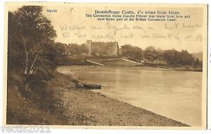 Dunstaffnage Castle, Argyllshire, Scotland vintage Postcard - 1940