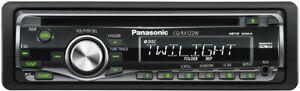 Panasonic CQ-RX122W Head Unit Car Stereo | Aux Input | MP3 | CD-R/RW | AM/FM