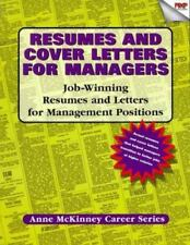 Resumes And Cover Letters For Managers: Job-winning resumes and-ExLibrary