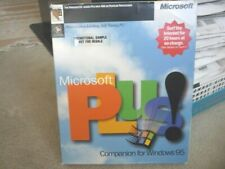 MICROSOFT PLUS FOR WINDOWS 95 BIG BOX WITH CD-KEY