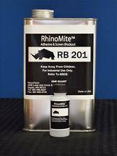 RhinoTech RhinoBlock 201 Permanent Blockout Quart for Screen Printing