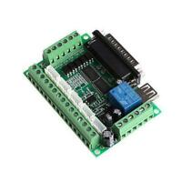 New CNC 5 Axis Breakout Board W/ Optical Coupler For Stepper Motor Driver MACH3