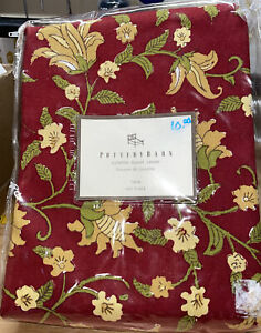NEW In Package Pottery Barn Colette Twin-size Duvet Cover 55% Linen 45% Cotton