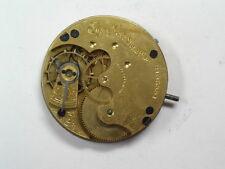 Antique 6 Size Elgin 7 Jewel Hunting Case Movement M-582