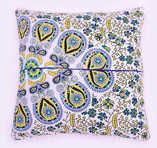 100%Cotton Cushion Cover Decorative Floral  Throw Sham Pillow Case 24x24 Size
