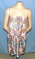 Awesome & Chic Bisou Bisou Strapless Sun Dress Size 10 Club or Career