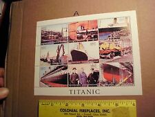 Centrafricaine Titanic/Ships/Boats/Shipwrecks Launch Build Construction anchor