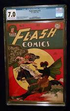 1946 DC Flash Comics #73 CGC 7.0 Cream to Off White Pages Hawkman