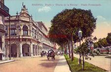 """CUBA, HABANA No. 113 PRADO Y """"DIARIO DE LA MARINA"""""""
