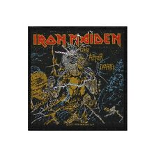 IRON MAIDEN - LIVE AFTER DEATH - WOVEN PATCH - BRAND NEW - MUSIC BAND 2526