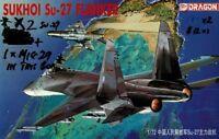 1/72 DRAGON 41101; Sukhoi Su-27 FLANKER TWO KITS + HC MiG-29