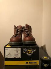 Dr. Martens Air Wair Boots - Style Peanut - Women's Size 8 - Brown Leather - Doc