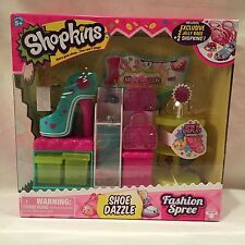 Shopkins Fashion Spree - Shoe Dazzle - Includes 2 Exclusive Shopkins - NEW