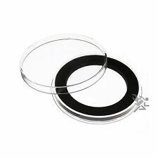 Air-Tite Brand Y48mm Black Ring Capsule Holders for 2oz Silver Libertad Qty: 5