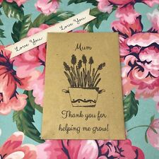 Mum Thank You For Helping Me Grow! - Perfect Mother's Day Gift