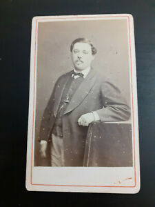 FRENCH CDV CABINET CARD PHOTO - fin 1800's - Notable