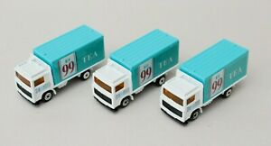 Matchbox Superfast Volvo Box Truck Co-op 99 Tea x3 Job Lot