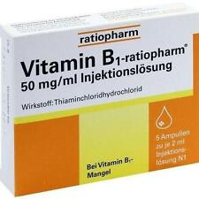 VITAMIN B1 ratiopharm 50mg/ml Inj.Lsg. Ampullen 5X2 ml