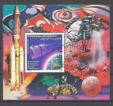 Cosmos Djibouti (15) bloc oblitéré