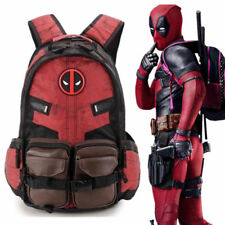 Deadpool Batman Backpack Bookbag Travel Rucksack School Student Shoulder Bag