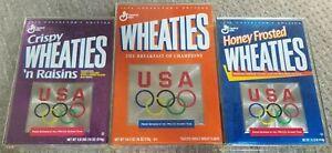 1996 Olympics Team USA Wheaties Commemorative Box Set Encased in Plastic