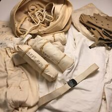 Lot of WW2 WWII US Navy Crackerjack Pants, Thermal Underwear, Bags, Shoe Covers