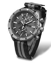 Relojes de pulsera titanio cuero cronógrafo