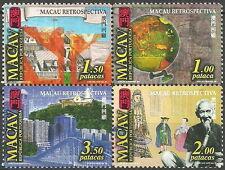 Macau - 450 Jahre portug. Verwaltung postfrisch Viererblock 1999 Mi. 1057/60