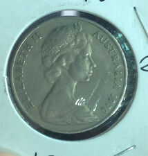 Australia 1970  20 cents coin high grade!
