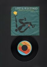 "STEVE WINWOOD While You See A Chance 7"" SINGLE 1980 Vacant Chair"