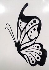 "Butterfly 6"" Girly Car Truck Window Vinyl Decal Sticker CHOOSE 12 COLORS"