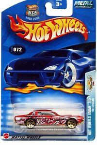 2003 Hot Wheels #72 Hot Wheels Anime 3/5 '68 Mercury Cougar gold base