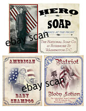 Primitive Patriotic Style   Pantry   Labels   #FH453