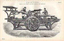 1880 PRINT ~ PRINTING ~ DOUBLE CYLINDER GRIPPER PERFECTING MACHINE