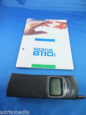 Original Nokia 8110i cult Phone nhe-6bx Car Phone Classic Rarity TOP LIKE NEW