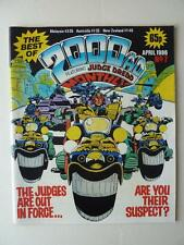 The Best Of 2000AD Featuring Judge Dredd Monthly No 7 1986 VGC