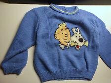 Lot de 2 jolis pull Tintin Tricot
