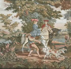 Antique Tapestry Abusson Style Made In France Never Mounted