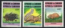 Cameroun Stamp 792-794 - Porcupine, squirrel, hedgehog