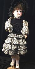 "Antique Schoenau & Hoffmeister S&H Pb Dep #5800 11 Doll 28"""