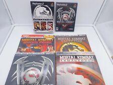 Mortal Kombat Kollection PS2 + Guides Deception Armageddon Shaolin Monks Deadly