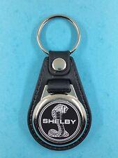 Ford Shelby Logo noir  .Porte Clés Luxe Rond