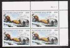 Scott #3235...32 Cent...Klondike Gold Rush...Plate Block...4 Stamps