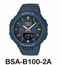 Authentic Original Casio Baby G BSA-B100-2A Watch