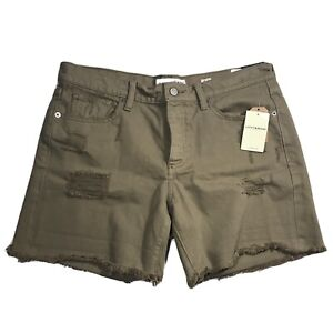 Lucky Brand Shorts Distressed The Boyfriend Short Size 28 NWT
